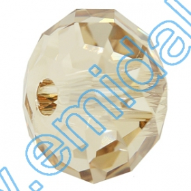 Cristale de Lipit 2493, Marime: 8 mm, Culoare: Light Siam (216 buc/pachet )   Sew-on Crystals 5041, Size: 12 mm, Color: Crystal Golden Shadow (144 pcs/pack)