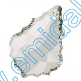 Cristale de Lipit 2797, Marimea: 8x4 mm, Culoare: Liam Siam (240 buc/pachet) Pandant 6091, Marimea:28 mm, Culoare: Crystal Silver Shade (40 buc/pachet)