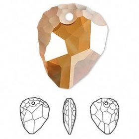 Cristale de Lipit Swarovski, Marimea: 14 mm, Culoare: Crystal (1 bucata)Cod: 2808 Pandantiv Swarovski, 23 mm, Diferite Culori (1 bucata)Cod: 6190