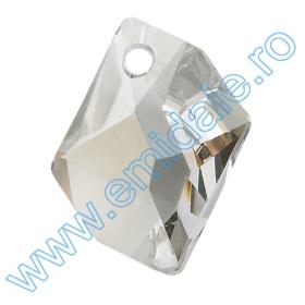 Cristale de Lipit 2493, Marime: 8 mm, Culoare: Light Siam (216 buc/pachet )   Pandant 6680, Marimea: 40 mm, Culoare: Crystal Silver Shade (12 buc/pachet)