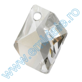 Cristale Metraj Swarovski 40301/004 (10 m/rola) Pandant 6680, Marimea: 40 mm, Culoare: Crystal Silver Shade (12 buc/pachet)