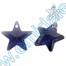 Cristale fara Adeziv 2028, Marimea: 50 mm, Culoare: Crystal (4 buc/pachet)  Pandant 6715, Marimea: 20 mm, Culoare: Purple Velvet (48 buc/pachet)