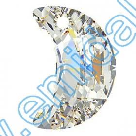Cristale fara Adeziv 2035, Marimea: 20 mm, Culoare: Crystal Bermuda Blue (40 buc/pachet)  Pandant 6722, Marimea: 18 mm, Culoare: Crystal (72 buc/pachet)