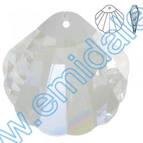 Nasturi 3015, Marimea: 18mm, Culoare: Crystal-Alb (24 buc/pachet)  Pandant 6735, Marimea: 45x28 mm, Culoare: Crystal (6 buc/pachet)