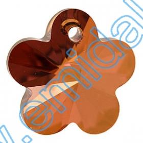 Cristale de Lipit  2797, Marimea: 10x5 mm, Culoare: Jet (180 buc/pachet)  Pandant 6744, Marimea: 14 mm, Culoare: Crystal Copper (144 buc/pachet)