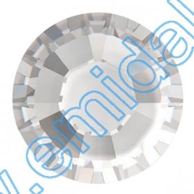 Cristale de Lipit 2013, Marimea: 34 mm, Culoare: Light Siam (144 buc/pachet) Cristale fara Adeziv 2028, Marimea: 50 mm, Culoare: Crystal (4 buc/pachet)