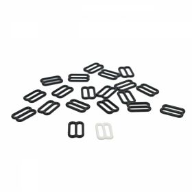 Inchizatori Sutien, 15 mm, Negru (100 perechi/pachet) Reglor Sutien, 12 mm, Negru (100 bucati/pachet)