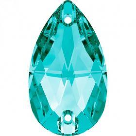 Cristale de Montura 177313-MM13X6 (1 bucata/pachet) Crystal Cristale de Cusut Swarovski, 12x7 mm, Culoare: Blue Zircon (1 bucata)Cod: 3230