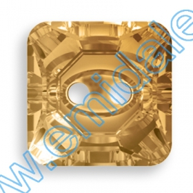 Cristale Metraj Swarovski 40301/004 (10 m/rola) Nasturi 3017, Marimea: 12 mm, Culoare: Light Colorado Topaz (48 buc/pachet)