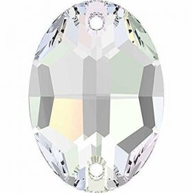 Cristale de Cusut Swarovski, 14mm, Culoare: Crystal (1 bucata)Cod: 3200 Cristale de Cusut Swarovski, 10 X 7 mm, Culoare: Crystal AB (1 bucata)Cod: 3210