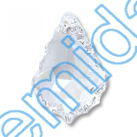 Nasturi 3037, Marime: 12 mm, Culoare: Crystal (48 buc/pachet) Pandant 6091, Marime: 28 mm, Culoare: Crystal Moonlight (40 buc/pachet)