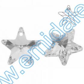 Cristale fara Adeziv 2035, Marimea: 40 mm, Culoare: Crystal Comer Argent Light (6 buc/pachet) Pandant 6715, Marime: 20 mm, Culoare: Crystal (48 buc/pachet)