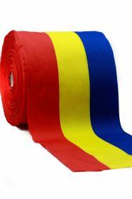 Banda Tricolor, latime 10 mm (50 metri/rola)  Banda Tricolor, latime 160 mm (50 metri/rola)