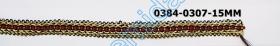 Pasmanterie cu Fir Metalic, 40 mm (13.716 metri/rola) Cod: LA4878 Pasmanterie 0384-0307-15MM (15 m/rola)