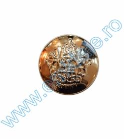 Nasturi cu Picior 0311-1437, Marimea 36 (100 buc/pachet)   Nasturi cu Picior 29SW-180, Marimea 40, Aurii (100 buc/pachet)