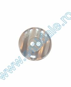 Nasturi Plastic cu Doua Gauri 0312-0111/40 (100 bucati/punga) Culoare: Maro Nasturi cu Doua Gauri AH131026/40 (144 buc/punga)
