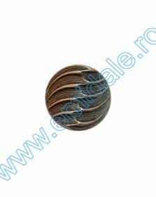 Nasturi Metalizati, cu Picior, din Plastic, marime 40 Lin (144 bucati/pachet) Cod: B6314 Nasturi cu Picior PL034, Marimea 40, Arginti (144 buc/pachet)