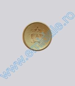 Nasturi Metalizati, cu Picior, din Plastic, marime 44 (100 bucati/pachet) Cod: S1 Nasturi cu Picior S567, Marimea 34 (100 buc/pachet)