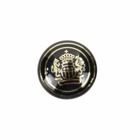 Nasturi Plastic Metalizati ABH024-9, Marimea 24 (144 buc/pachet) Buttons S241, Size 34 (100 pcs/pack)