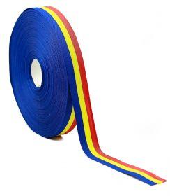 Banda Tricolor, latime 130 mm (50 metri/rola) Banda Tricolor, latime 20 mm (50 metri/rola)