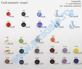 Nasturi 10382/20  (500 bucati/pachet) Nasturi 10397 (500 bucati/pachet)