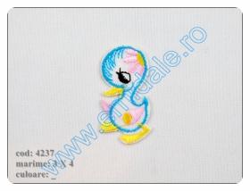 Embleme Termoadezive M131 (12 buc/pachet) Culoare: Rosu Embleme Termoadezive 4237 (12 bucati/pachet)