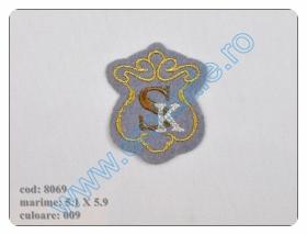 Embleme Adezive, Termoadezive, Decorative Embleme Termoadezive 8069 (12 bucati/pachet) Culoare: 009