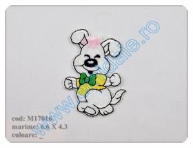 Embleme Termoadezive M8276-2 (12 bucati/pachet) Culoare: 836 Embleme Termoadezive M17016 (12 bucati/pachet)