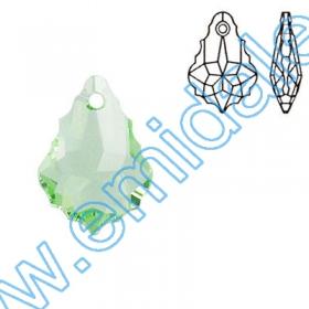 Oferta Speciala Pandantive Swarovski Elements 6090-MM22x15 (48 bucati/pachet) Culoare: Crysolite