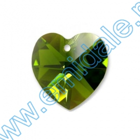 Oferta Speciala Pandantive Swarovski Elements 6202-MM10.3x10 (288 bucati/pachet) Culoare: Olivine AB