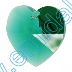 Oferta Speciala Pandantive Swarovski Elements 6202-MM14.4x14 (144 bucati/pachet) Culoare: Emerald