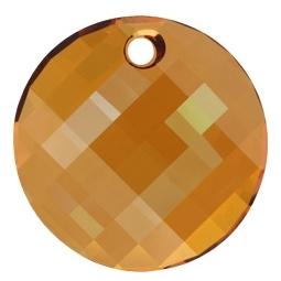 Oferta la 4 Lei + TVA Pandantiv Swarovski, 28 mm, Culori: Crystal Copper (1 bucata)Cod: 6866