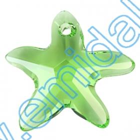 Oferta Speciala Pandantive Swarovski Elements 6721-MM16 (72 bucati/pachet) Culoare: Peridot