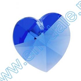 Oferta Speciala Pandantive Swarovski Elements 6202, Marimea: 18x17.5mm, Culoare: Saphire (72 buc/pachet)