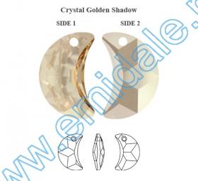 Oferta Speciala Pandantive Swarovski Elements 6722, Marimea: 18 mm, Culoare: Crystal Golden Shadow (72 buc/pachet)