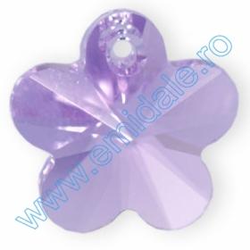 Cristale fara Adeziv 2035, Marimea: 40 mm, Culoare: Crystal Comer Argent Light (6 buc/pachet) Pandantive Swarovski Elements 6744, Marimea: 14mm, Culoare: Violet (144 buc/pachet)