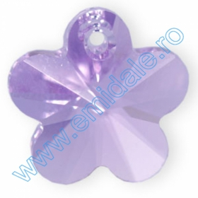 Nasturi 3017, Marimea: 12 mm, Culoare: Crystal Red Magma (48 buc/pachet)  Pandantive Swarovski Elements 6744, Marimea: 14mm, Culoare: Violet (144 buc/pachet)