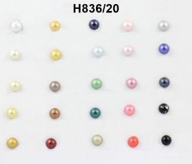 Nasturi cu Picior GD043 Nasturi cu Picior H836, Marimea 18 (100 buc/pachet)