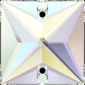 Pandantiv Swarovski, 13x6.5 mm, Culoare: Crystal (1 bucata)Cod: 6010 Cristale de Cusut Swarovski, 16 mm, Diferite Culori (1 bucata)Cod: 3240
