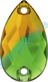 Lichidare de Stoc Cristale de Cusut 3230-MM18x10.5 (72 bucati/pachet) Fern gren+topaz blend