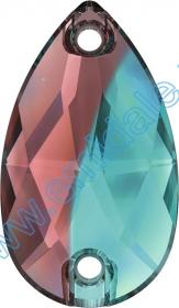 Lichidare de Stoc Cristale de Cusust 3230-MM18x10.5 (72 bucati/pachet) Burgundy+Blue Zircon Blend
