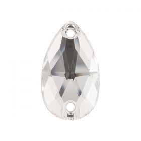 Pandantiv Swarovski, 18 mm, Culori: Crystal Liliac Shadow (1 bucata)Cod: 6673-MM18 Cristale de Cusut Swarovski, 28x17 mm, Culoare: Crystal (1bucata)Cod: 3230