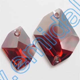 Lichidare de Stoc Cristale de Cusut 3265-MM20X16 (72 bucati/pachet) Crystal Redmagma