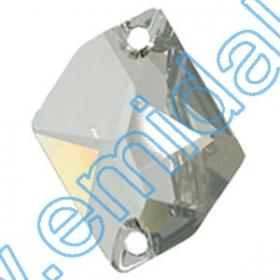 Lichidare de Stoc Cristale de Cusut 3265-MM26X21 (20 bucati/pachet) Crystal Silver Shade