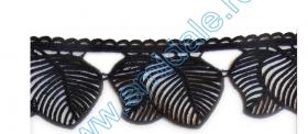 Dantela 20301 (25 m/rola) Dantela LA1587 (12.80 metri/rola) Culoare: Negru