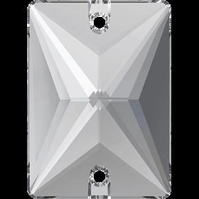 Pandantiv Swarovski, 18 mm, Culoare: Crystal (1 bucata)Cod: 6028 Cristale de Cusut Swarovski, 18x13 mm, Culori: Crystal (1 bucata)Cod: 3250