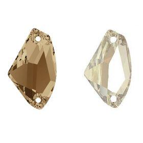 Cristale de Lipit, 12.5 mm, Culoare: Light Siam (1 bucata)Cod: 2720 Cristale de Cusut Swarovski, 14x8.5 mm, Diferite Culori (1 bucata)Cod: 3256