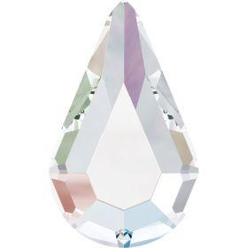 Pandantiv Swarovski, 30 mm, Culoare: Indicolite (1 bucata)Cod: 6040-MM30 Cristale de Lipit Swarovski, 8x4.8 mm, Culori: Crystal (36 buc/pachet)Cod: 2300