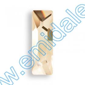 Swarovski Cristale de Lipit 2555-MM15x5 (36 bucati/pachet) Crystal Golden Shadow