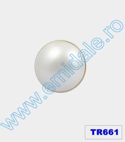 Nasturi cu Picior S1-PGE, Marimea 44 (100 buc/pachet)  Nasturi cu Picior TR661, Marimea 40 (10 buc/pachet)